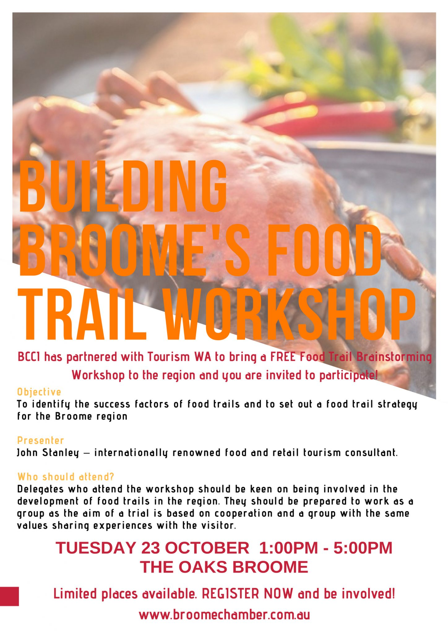 Building Broome's Food Trail Workshop